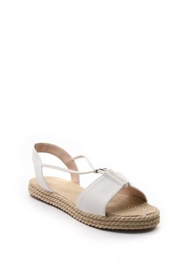 Sapin Sandalet Beyaz